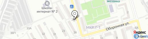 ДНО на карте Жигулёвска