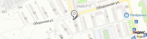 Самарский областной учебный комбинат на карте Жигулёвска