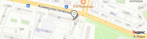 АйнКляйнБар Аббатское на карте Тольятти