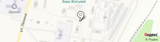 Маяк на карте Александровки