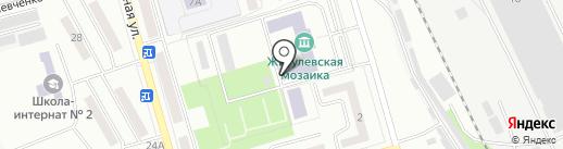 Уголовно-исполнительная инспекция ГУФСИН России по Самарской области на карте Жигулёвска