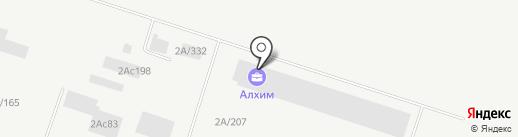 Профиль на карте Тольятти