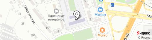 Средняя общеобразовательная школа №14 на карте Жигулёвска