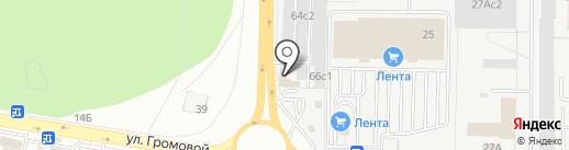 Ампер на карте Тольятти