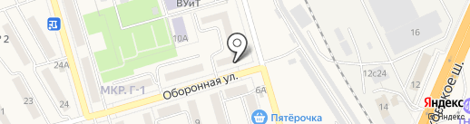 Библиотека №1 на карте Жигулёвска
