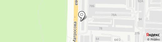 Магазин автотоваров на карте Тольятти