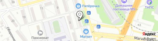 Поволжский банк Сбербанка России на карте Жигулёвска