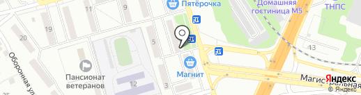 Ермолино на карте Жигулёвска