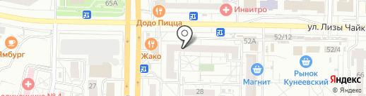 Торговая компания на карте Тольятти
