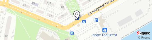 Beer house на карте Тольятти