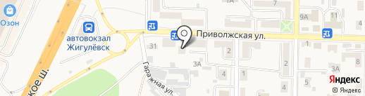 QIWI на карте Жигулёвска
