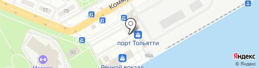 Цемент Тольятти на карте Тольятти