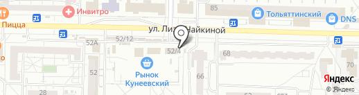 Магазин памятников на карте Тольятти
