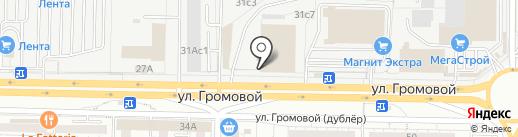 Данила-мастер на карте Тольятти