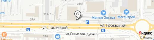 Деревянный дом на карте Тольятти