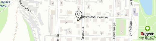 Газпром межрегионгаз Самара на карте Жигулёвска