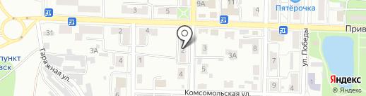 Жемчужинка на карте Жигулёвска