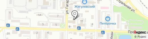 Совет ветеранов войны, труда, Вооруженных Сил и правоохранительных органов на карте Жигулёвска