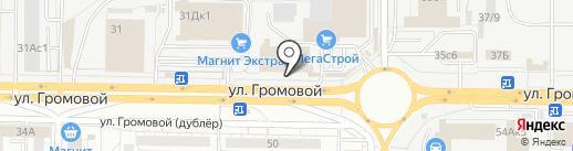 Самик на карте Тольятти