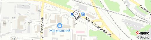 Магазин текстиля для дома на карте Жигулёвска