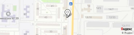 Мясоед на карте Тольятти