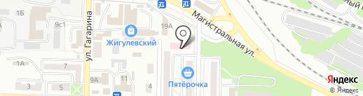 Стоматологическая поликлиника на карте Жигулёвска