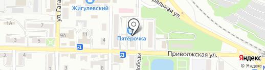 Ситилинк-мини на карте Жигулёвска
