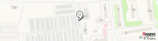 Шиноремонтная мастерская на карте Костиного