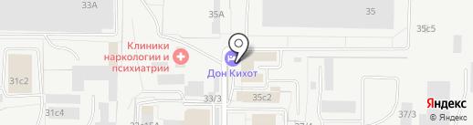 Дон Кихот на карте Тольятти