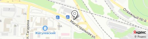 Версаль на карте Жигулёвска