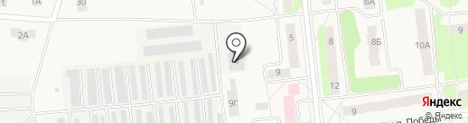Вятская птица на карте Костиного