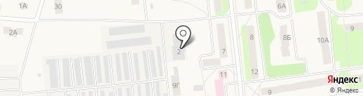 ВБК на карте Костиного