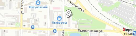 Жигулёвский комитет Коммунистической Партии РФ на карте Жигулёвска