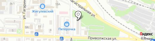 Ателье на карте Жигулёвска