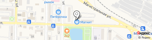 Ольга на карте Жигулёвска