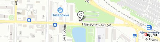 Магазин фейерверков на карте Жигулёвска