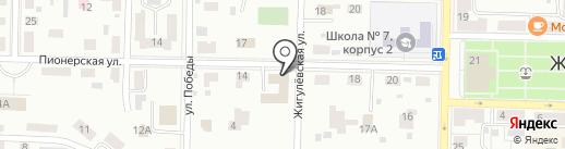 Самараэнерго, ПАО на карте Жигулёвска
