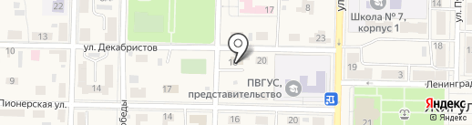 Жигулёвская Федерация Бокса на карте Жигулёвска