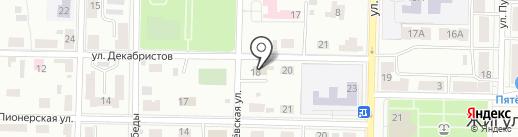 Специализированная детско-юношеская спортивная школа олимпийского резерва №3 на карте Жигулёвска