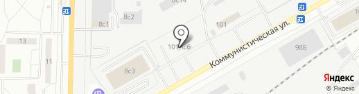 Пульсар на карте Тольятти