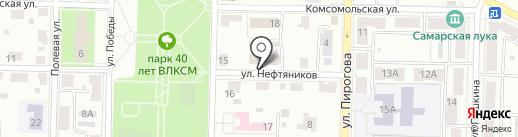 ВСК, САО на карте Жигулёвска