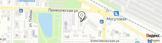 Городское на карте Жигулёвска