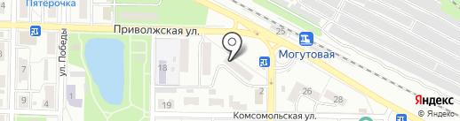 Жигулёвский отдел Управления Росреестра по Самарской области на карте Жигулёвска
