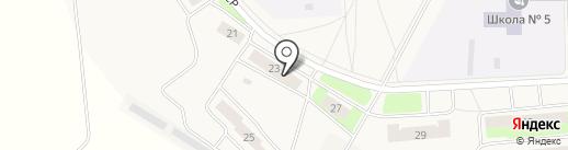 Дом 23, ТСЖ на карте Костиного