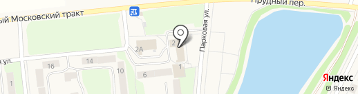 Красногорский, ЗАО на карте Костиного