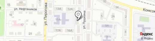 Марго на карте Жигулёвска