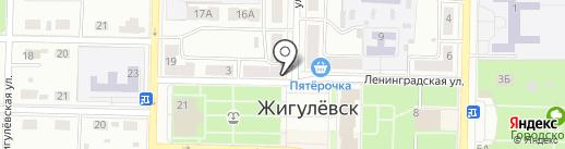 Банкомат, КБ Солидарность на карте Жигулёвска