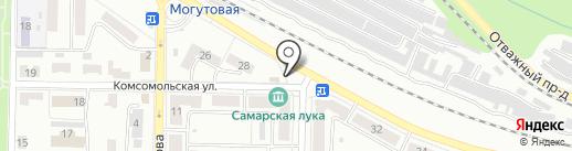 Фабрика качества на карте Жигулёвска