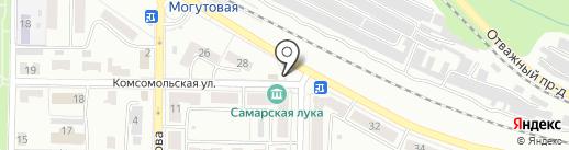 Карапуз на карте Жигулёвска
