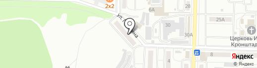 Центральная библиотека на карте Жигулёвска